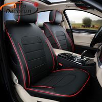 Deluxe Leatherette Car Covers For Land Rover Discovery 4 Accessories Car Seat Covers For Cars Cover