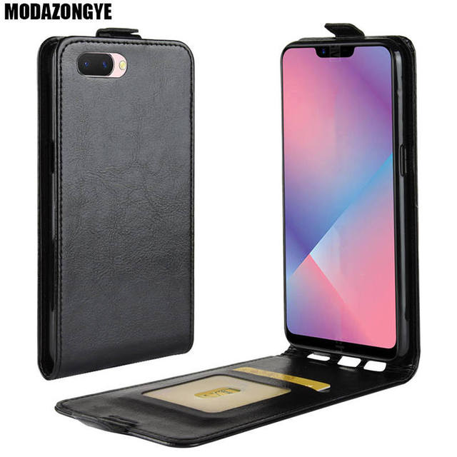 watch faa75 ceafd US $3.78 10% OFF|OPPO A3s Case OPPO A3s Case Cover 6.2 inch PU Leather Back  Cover Phone Case OPPO A3s OPPOA3s CPH1803 Case Flip Protective-in Flip ...