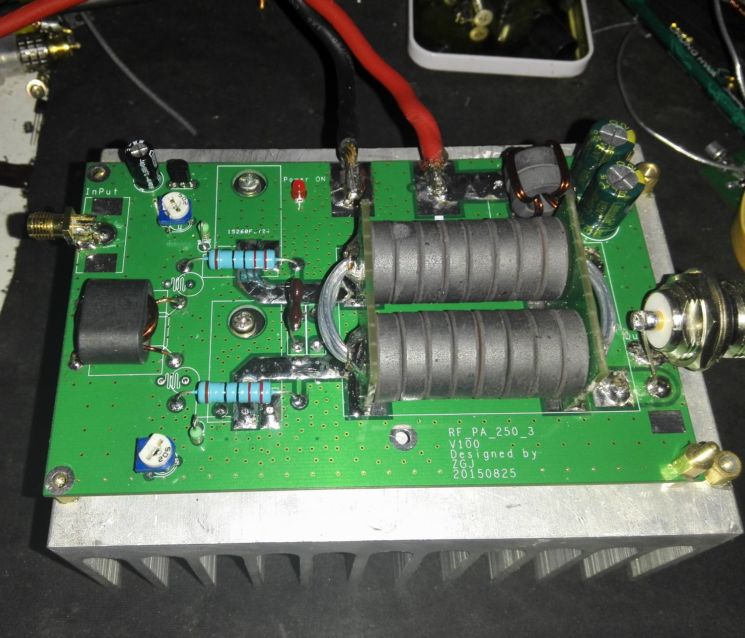 180W HF linear high frequency RF power amplifier amateur radio (spare parts) as15 hf qfp 48