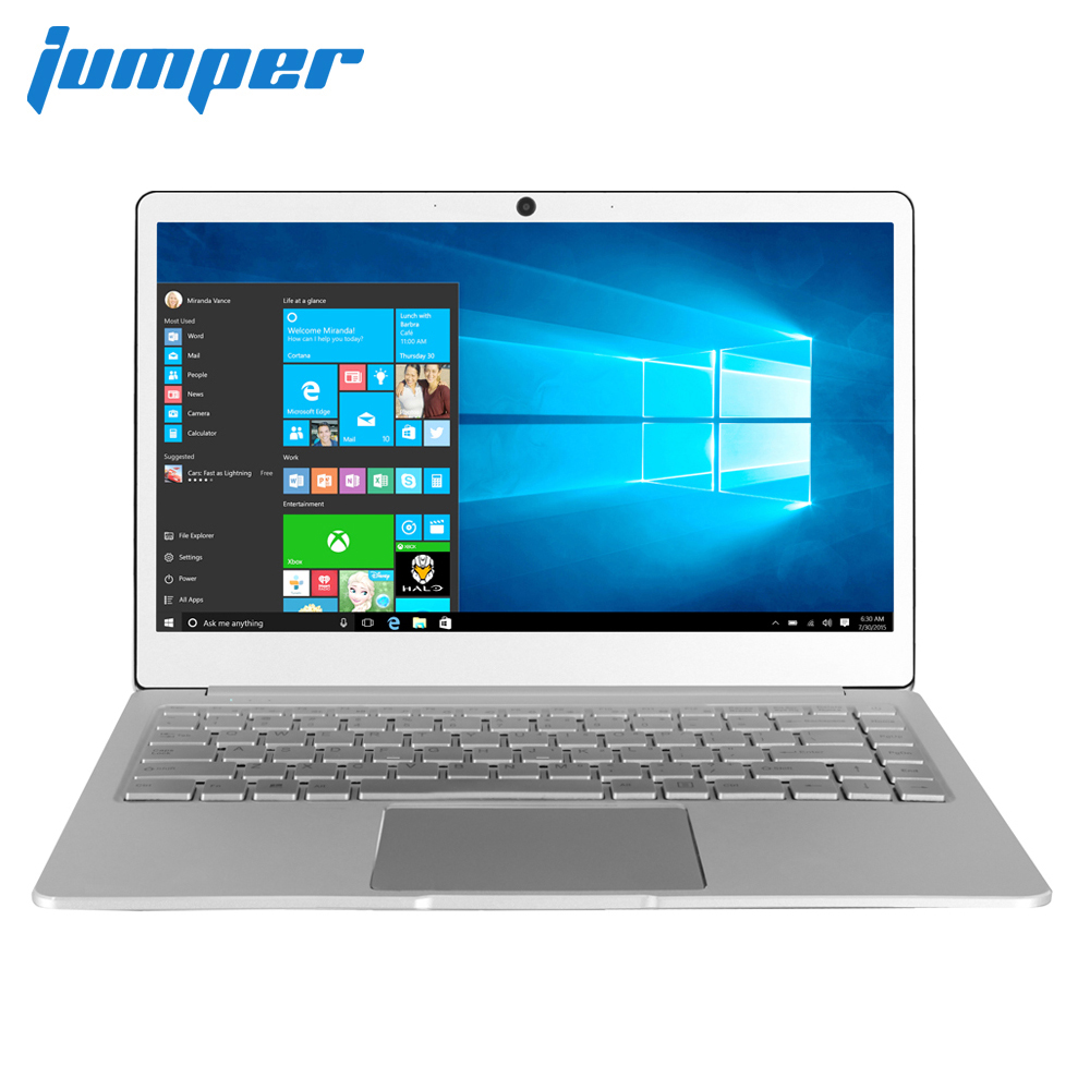 Jumper EZbook X4 Laptop 14 Inch IPS Backlit Keyboard Notebook Intel Celeron J3455 6GB 128GB Ultrabook Metal Case Dual Band Wifi