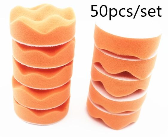 50 db / készlet 80 mm-es autófényező ütközőbetétek - Elektromos kéziszerszámok - Fénykép 1