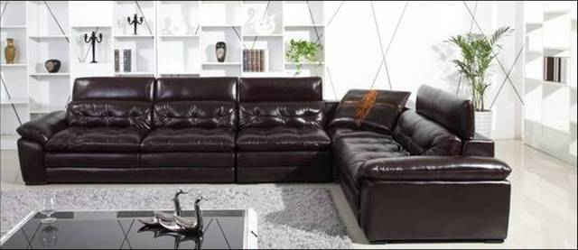 Aliexpress Buy Free Shipping Luxury Italian Top Grain Leather Magnificent Back Home Furniture