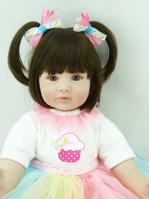 60cm Silicone Vinyl Reborn Baby Doll Toys Life