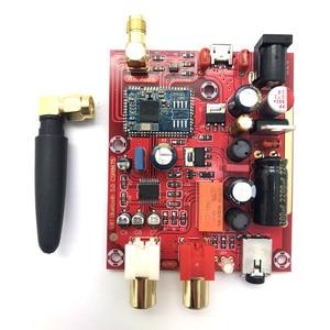 Image 5 - Wejście Lusya AUX Csr 8675 bezprzewodowa tablica odbiorcza Bluetooth 5.0 PCM5102A APTX HD I2S dekoder DAC 24bit z anteną