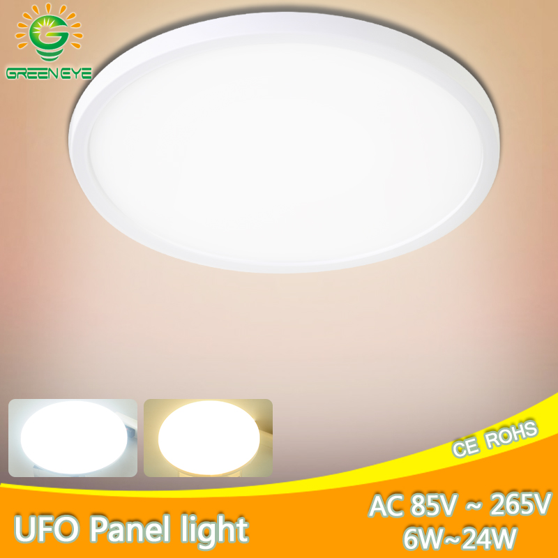 Ceiling Light 24W 18W 13W 9W 6W LED Panel Lamp Down Light Surface Mounted AC 85-265V Modern Lamp For Home Led Ceiling Lighting