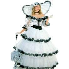 1890s Victorian Corset Gothic/Civil War Southern Belle Ball Gown Dress Halloween dresses V-1170