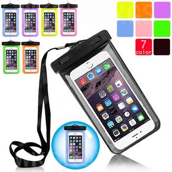 Transparent Waterproof Underwater Pouch Dry Bag Case Cover For Apple iPhone SE / 5SE / 5e Cell Phone Touchscreen Mobile Phone pochette étanche pour téléphone
