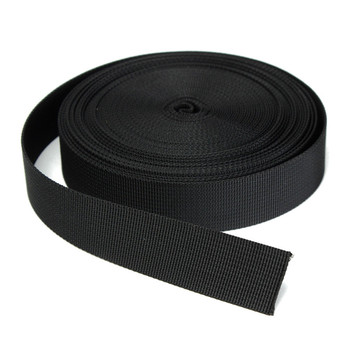 Wide Black Nylon Heavy Webbing Strap Thick Knapsack Belt Clothing Sewing Handmade DIY Materials Accessories 10 Meters 1 Inch лоток для бумаг вертикальный металлический