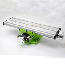 Heißer verkauf Multifunktionale Arbeits Kreuz Tisch BG6300 Schraubstock bohrer fräsmaschine stent