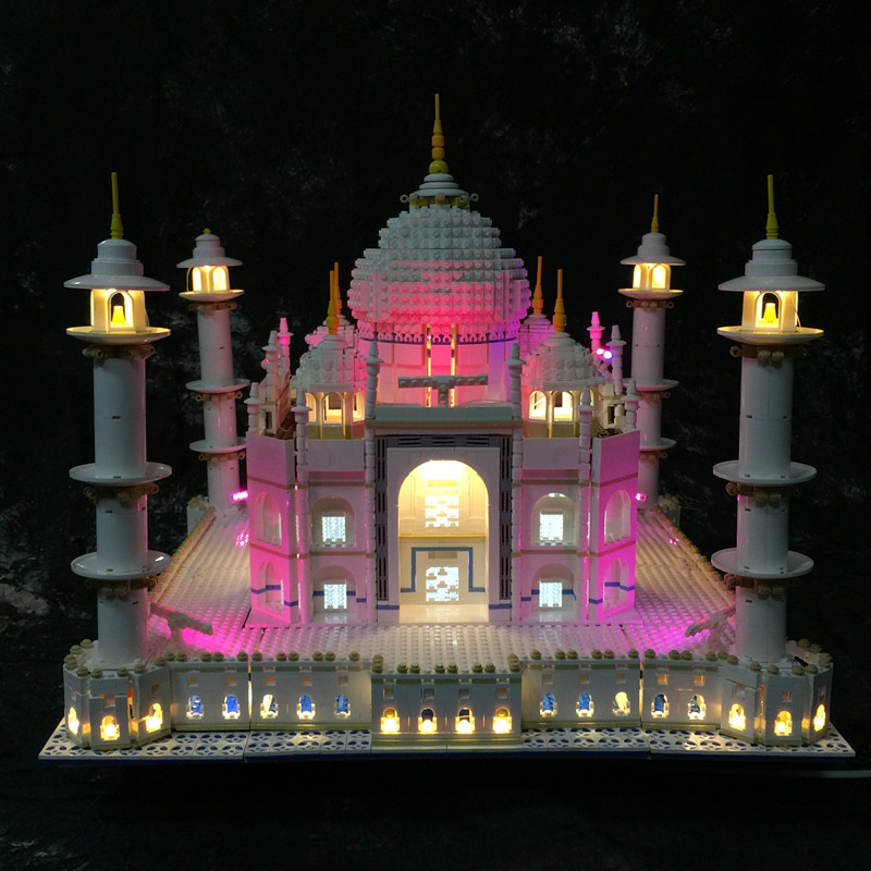 LED Light Kit only light included for lego 10189 10256 and 17001 17008 The taj mahal