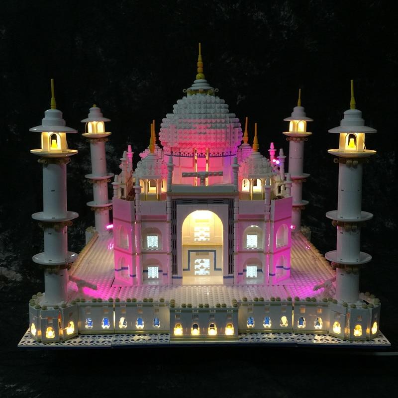 LED Light Kit (only light included) for lego 10189/10256 and 17001/17008 The taj mahal Model ( the blocks building not included) updated led light up kit for lego 10185 and 15008 green grocer not include building blocks model only led light set