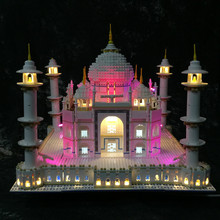 LEVOU Kit de Luz (somente luz incluído) lego para 10189/10256 e 17001/17008 Do Modelo de taj mahal (os blocos de construção não incluído)