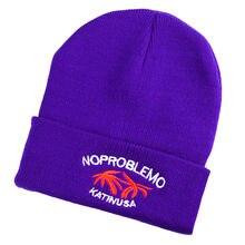 a60953782b3 2019 Unisex Adult Women Men Winter Crochet Hat Knit Hat Solid Color Warm Cap   A