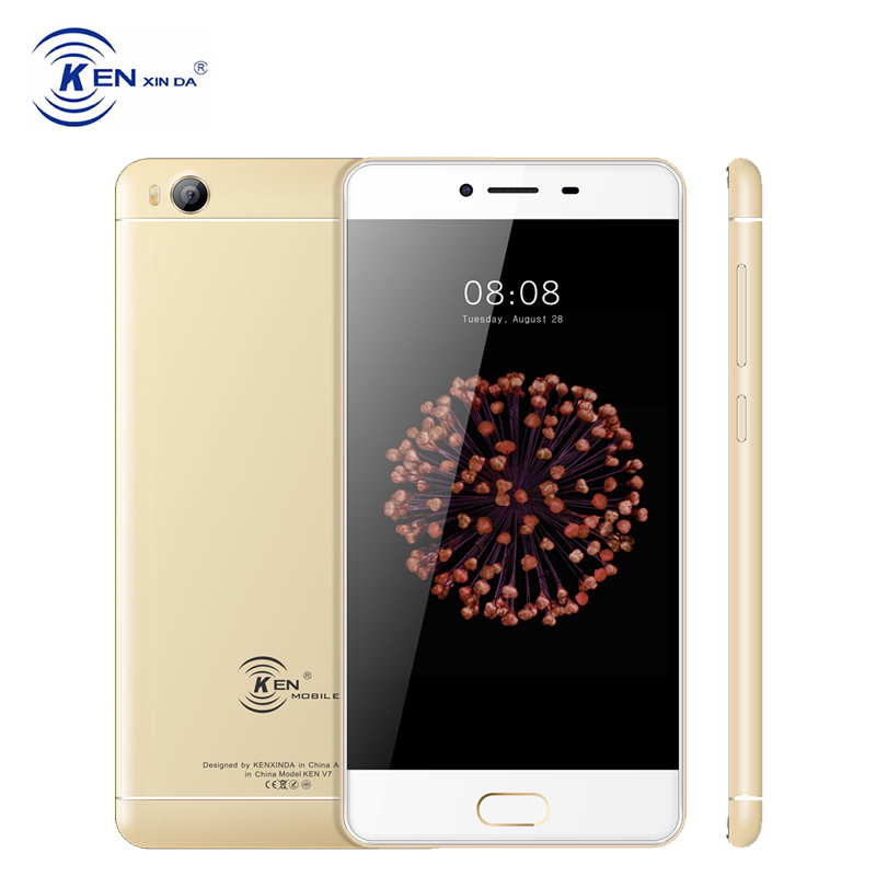 kenxida V7 Unlocked 4G LTE Dual Sim Cards Smartphone 5 Inch Android 6 0 MTK MT6735