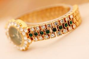 Image 3 - New Arrivral Luxury Diamond Small Dial Women Watches Ladys Elegant Dress Watch Girl Fashion Casual Quartz Watch Zegarek Damski