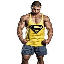 Men Justin Bieber tankSeen Superman Cotton Vest Crime Gold Stringer Vest To Join The Captain America Compression Shirt