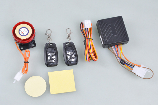 For HONDA Motorcycle 12V Universal Anti-theft Burglar Alarm System Security New [P133]