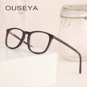 e3b6aa6c29f76 OUSEYA Eye Glasses Frames For Vintage Male Optical Man
