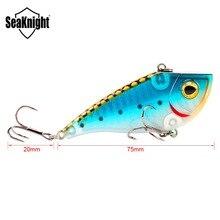 SeaKnight SK027 Sinking VIB 1PC 21g 70mm Fishing Lure Hard Bait Lifelike 3D Fish Eyes Artificial Wobblers Full Swimming Layer
