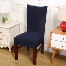 Home Printing Removable Chair Cover Stretch Elastic Slipcovers Restaurant For Weddings Banquet Folding Hotel Covering
