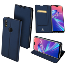 Original Dux Ducis Leather Case For Asus Zenfone Max Pro (m2) Zb631kl Luxury Thin Flip Cover Cases