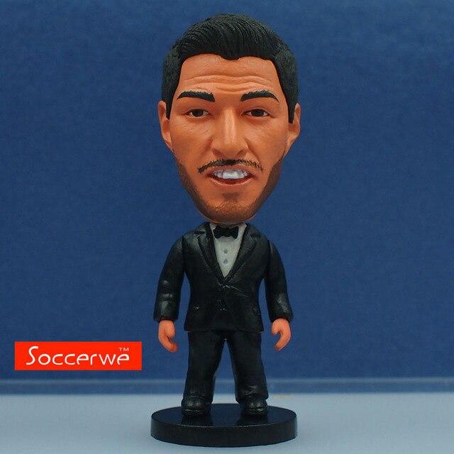 Bobblehead Figure Newest Design ! Soccer  Barcelona Luis Alberto Suarez 13cm