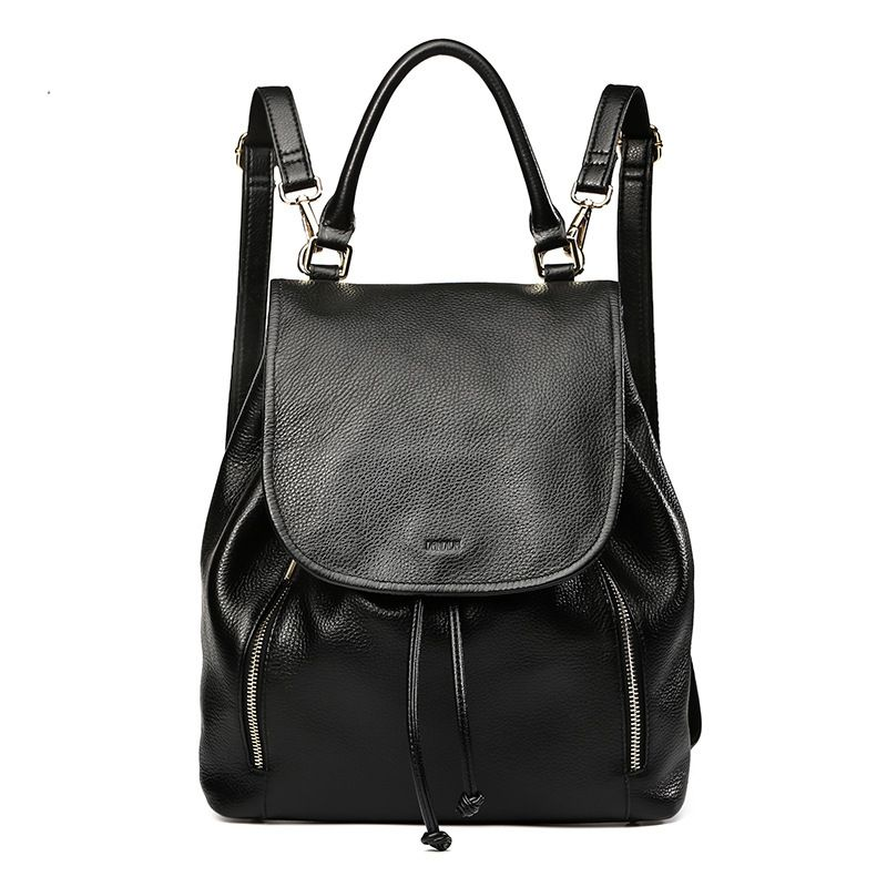 LOEIL New fashion Korean version of the tide shoulder bag leather bag casual wild backpack aetoo summer new shoulder bag women japan and south korea version of the pu backpack female tide fashion simple casual mini bag