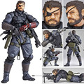MGS Alloy Equipment Magic Pain SNAKE PVC Action Figure Model Gifts Toys Collections About 14.5cm