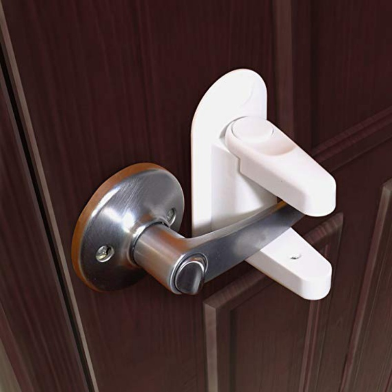 Self-Adhesive Door Lever Lock Baby Child Proof...