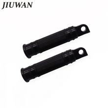 1 pair Motorcycle Black CNC Rear Front Foot Pegs for Harley Touring Sportster Softail Dyna Bobber Honda Yamaha Kawasaki Suzuki triclicks new turn signal lights lenses round cover lens motorcycle light covers car covers for dyna softail sportster touring