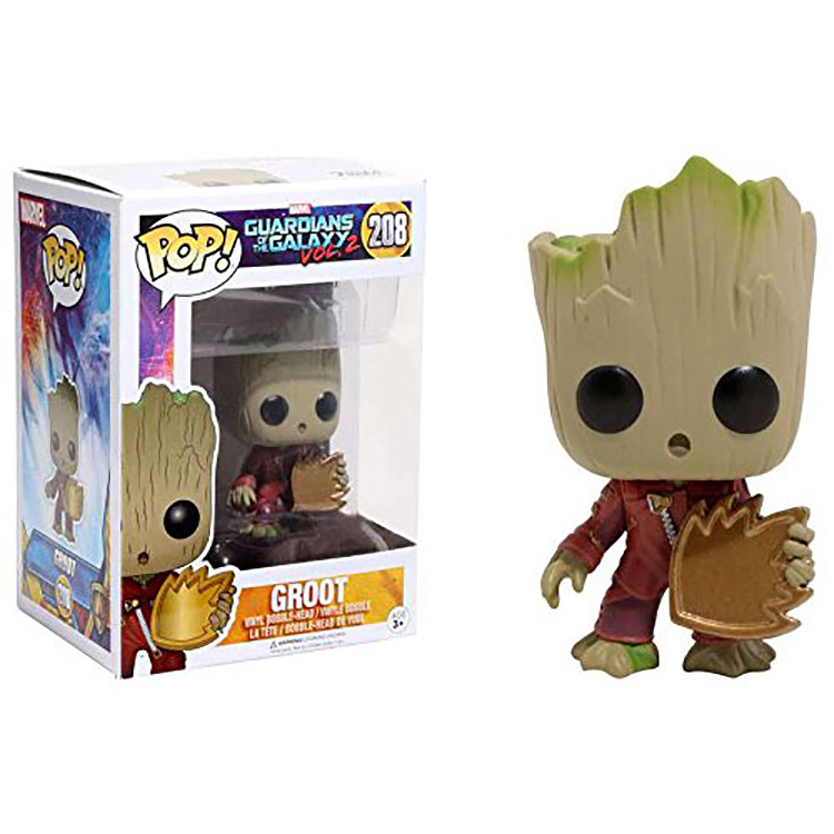Funko POP Moive Guardians of the Galaxy 2 Baby Groot Action Figure Model Christmas Gift new funko pop guardians of the galaxy tree people groot
