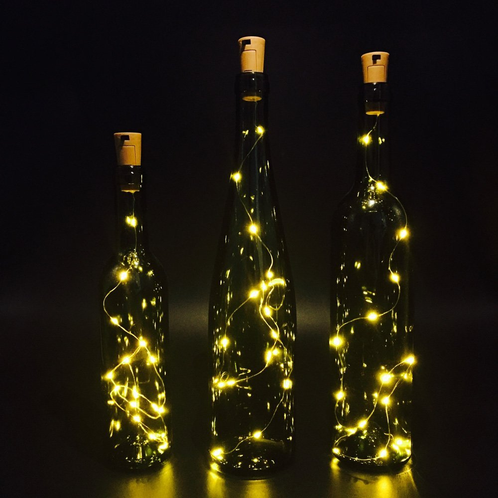 LED Fairy Cork Light String Romantic Wine Bottle Macon cup Desk L& Holiday Party Christmas Tree Halloween Wedding Decoration-in Underwear from Mother ... & LED Fairy Cork Light String Romantic Wine Bottle Macon cup Desk ... azcodes.com