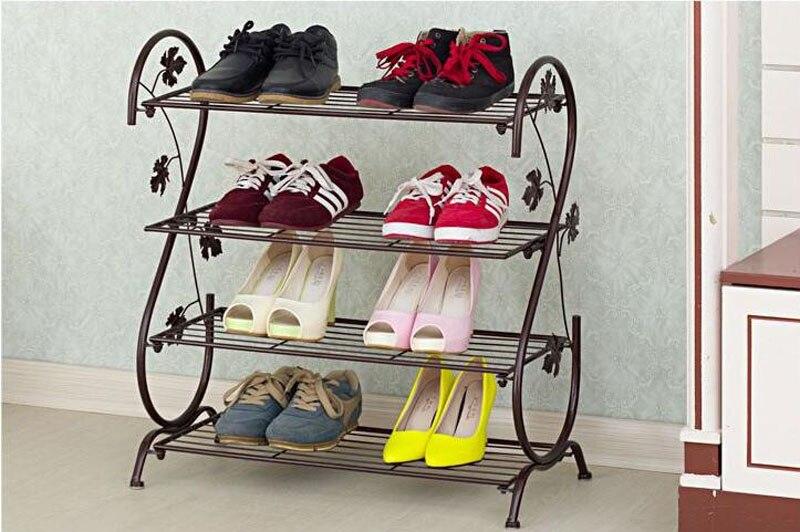 Fußboden Modern Eropa ~ Metall eisen handmade einfache s typ schuhregal moderne kreative