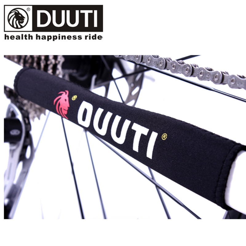 Outdoor Cycling Bike Neoprene Chain Stay Protector Guard Cover Chain Guards Bike Cover Dustproof Bicycle Accessory