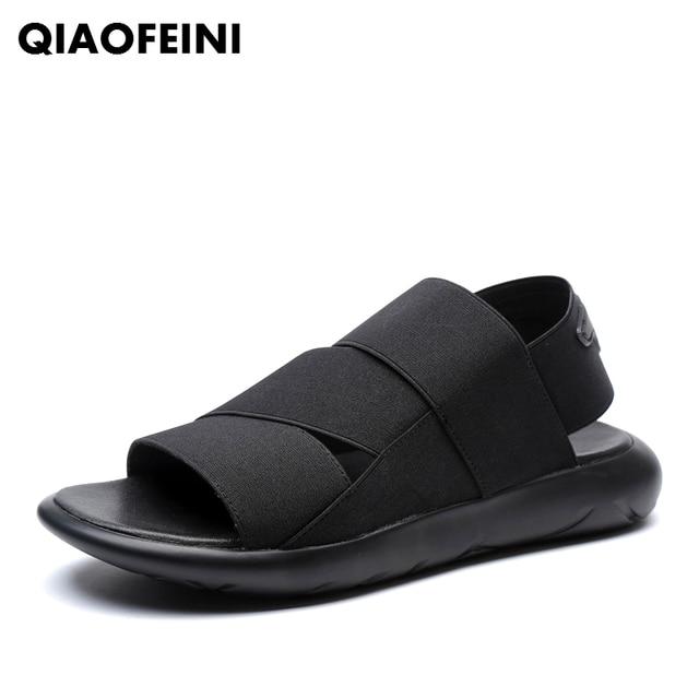 hombre feet outdoor men's beach zapatos summer Y3 elastic sandals 1lTFKcJ