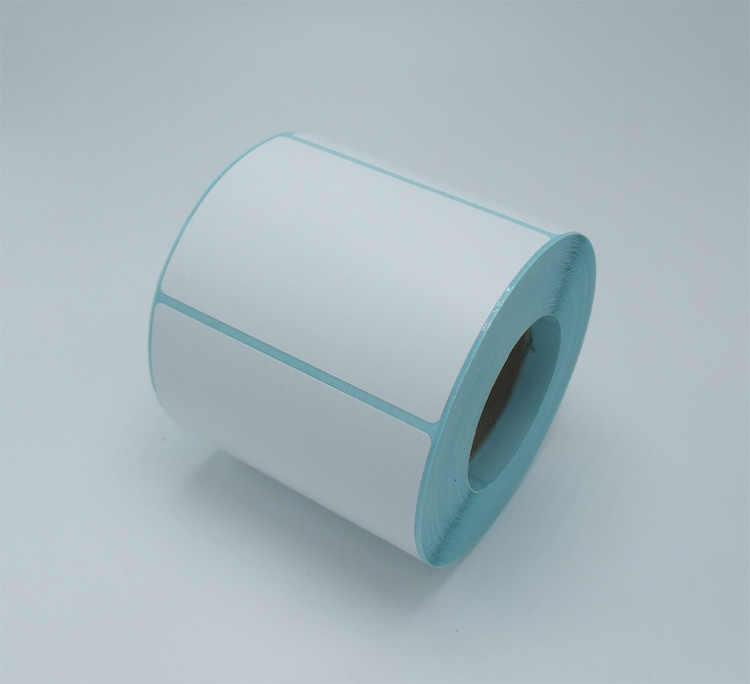 Grosir 1 roll Thermal sticker paper70x50mm 500 lembar tahan air barcode pencetakan kertas kertas bar code label kertas cetak