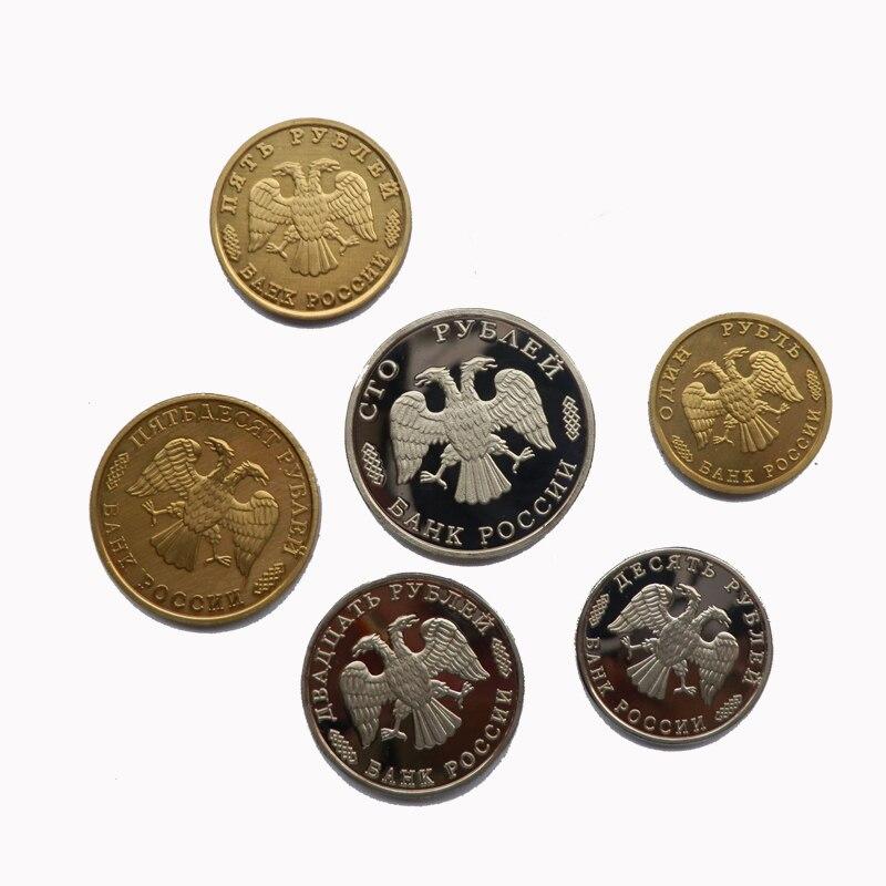 1 sätze/los KOPIE Nachbau Satz Münzen 300 Jahre der Russischen Marine, 1996 LMD rare