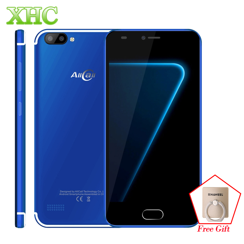 Original AllCall Alpha 3G Smartphone Android 7.0 5.0 Inch MTK6580A Quad Core 1GB RAM 8GB ...