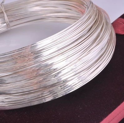 Wire Inlay Tools | 0 7mm Authentic 999 Sterling Silver Wire Diy Accessories Round Wire
