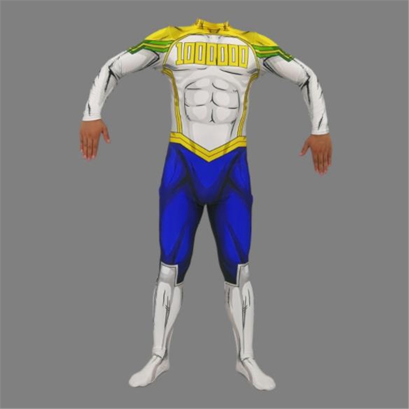 My Hero Academia, My Hero School Anime Costume <font><b>Mirio</b></font> Halloween <font><b>Cosplay</b></font> Adult Children Party Game Show Onesies image