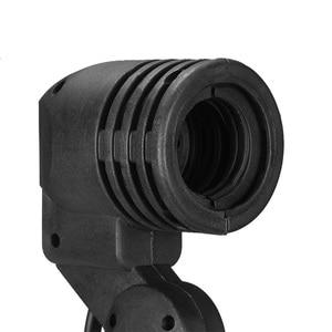 Image 5 - Single Head Bulb Holder E27 Socket Flash Umbrella Bracket Photo Lighting Bulb Holder For Photography Studio Accessories