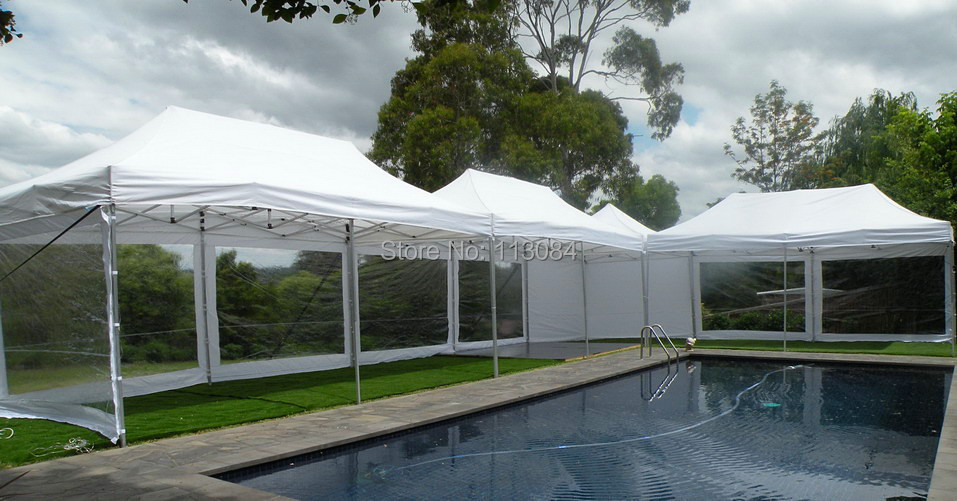 FREE SHIPPING ! 38x38x1.8mm leg profile aluminum 10ft x 20ft folding wedding tent, canopy, awning, party gazebo marquee tent все цены