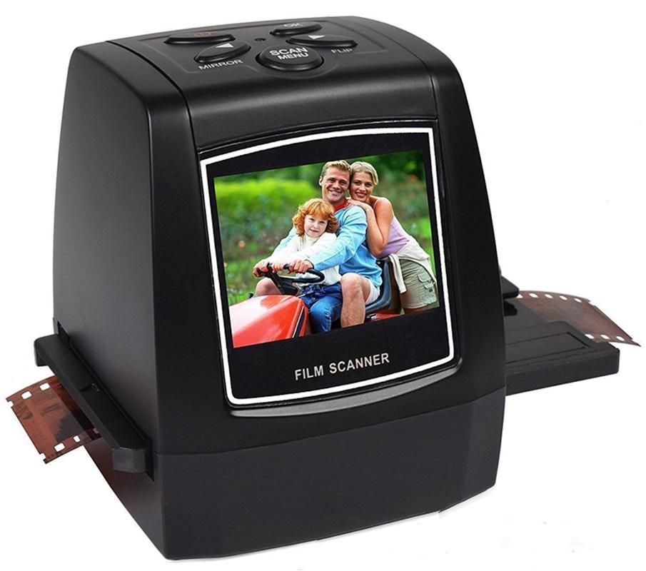 REDAMIGO 5MP 35mm Portable SD card Film scan Photo Scanners Negative Film Slide Viewer Scanner USB MSDC M125