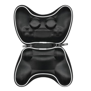 Image 5 - EVA Hard Pouch Bag for Sony PlayStation 4 5 PS4 Controller Case Portable Lightweight Carry Case Protective Cover for PS5 Gamepad