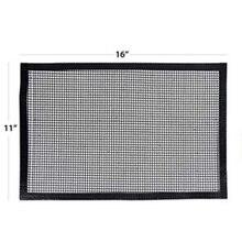 Тефлоновая термостойкая антипригарная решетка для гриля для барбекю тефлоновая решетка для гриля коврик для барбекю