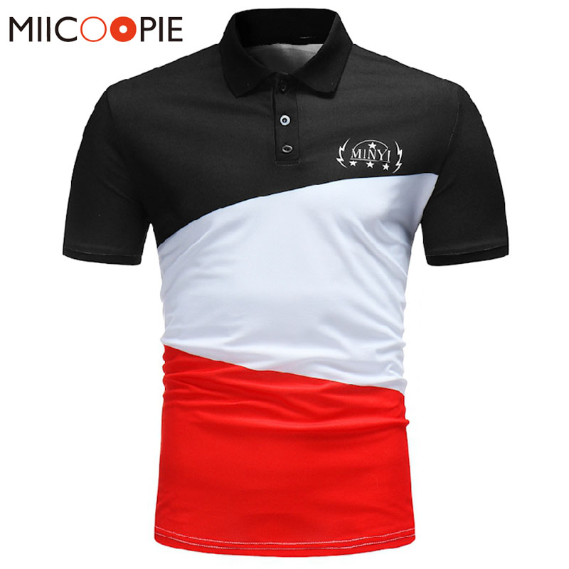 Summer Brand Clothing Men   Polo   Shirt Men Business & Casual Patchwork Male   Polo   Shirt Short Sleeve Breathable   Polo   Shirt 3XL