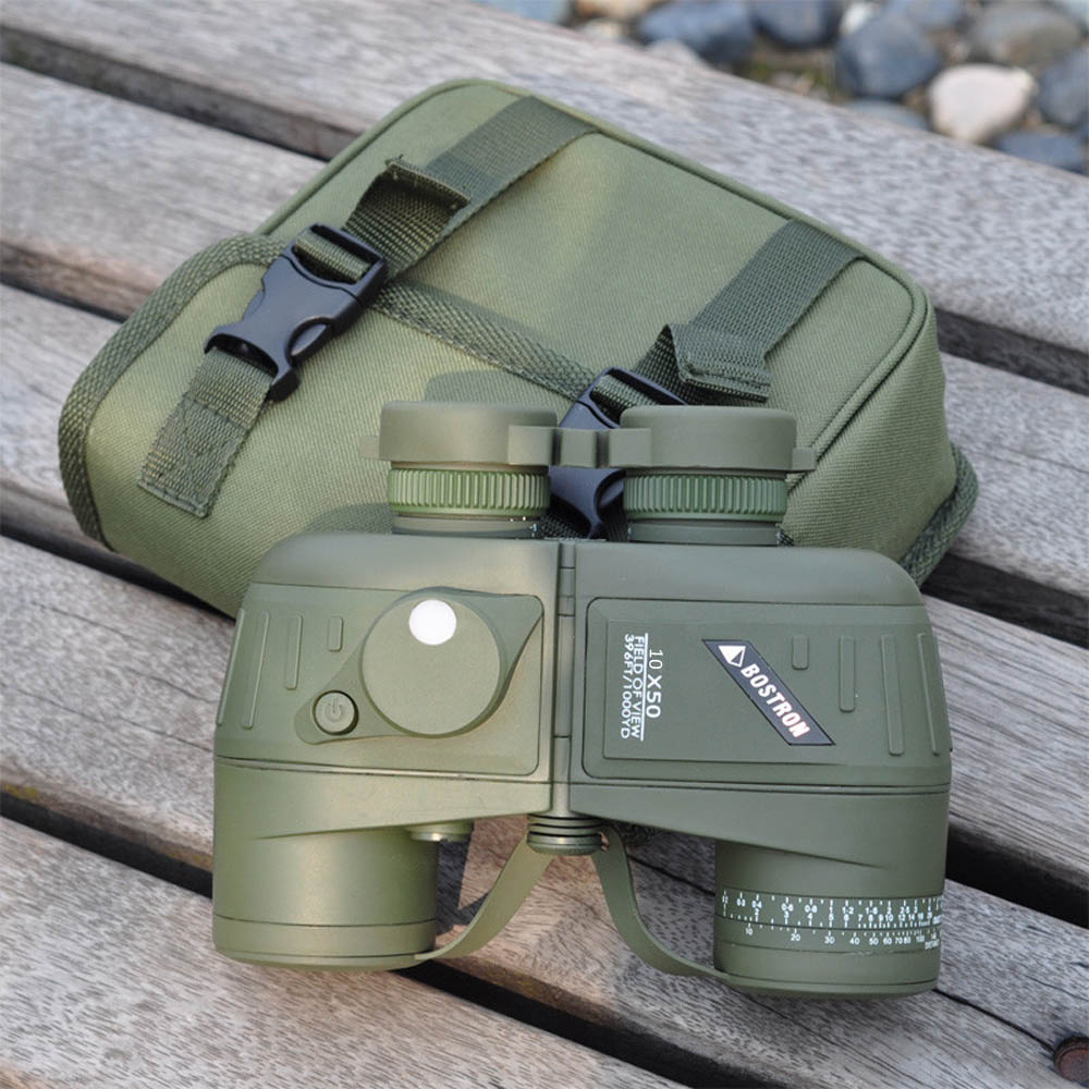 Waterproof Shockproof 10X50 396FT 1000YDS Military Optic font b Binocular b font Telescope Spotting Scope with