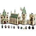 Harri Potter Series Magic School Hogwarts Castle Model Building Block 1340pcs Bricks Compatible With Legoings 4842