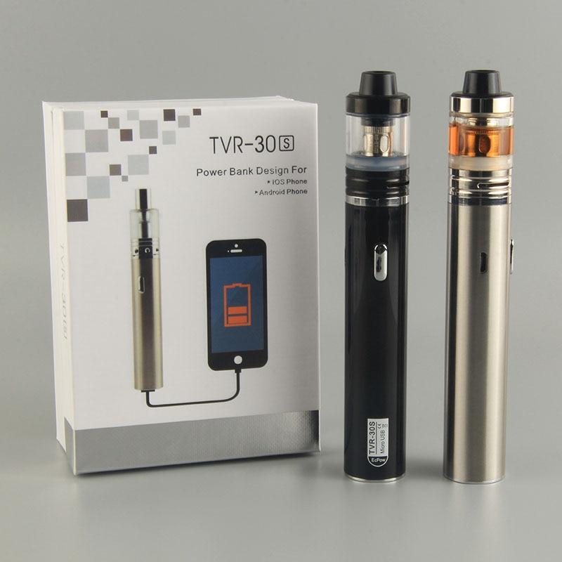NUEVO e cigarrillo electrónico TVR-30S 2200mah Vaping Kit Vs Only - Cigarrillos electrónicos