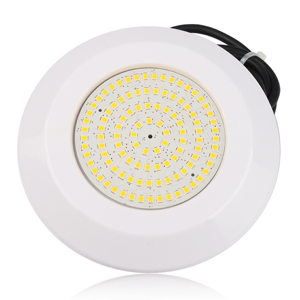 Underwater Lamp Resin Filled Waterproof Pool Light DC12V 12W White/Warm White Swimming Pool LED Spotlight